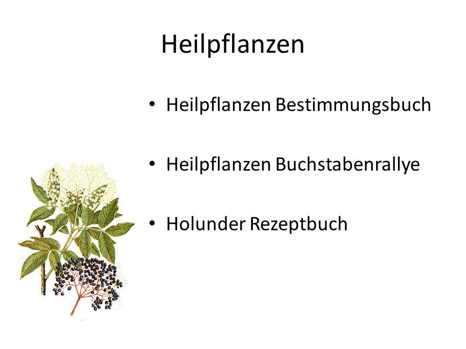 Heilpflanzen Heilpflanzen Bestimmungsbuch