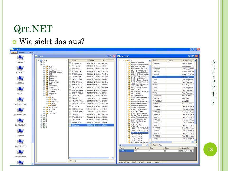 Qit.NET Wie sieht das aus 42. Course 2012 Limburg