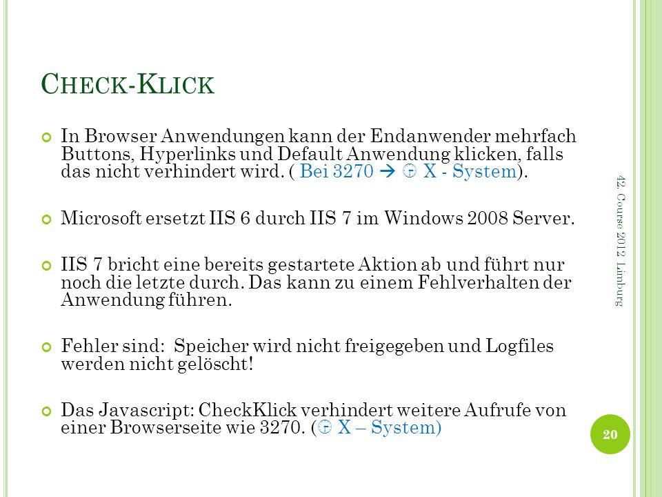 Check-Klick