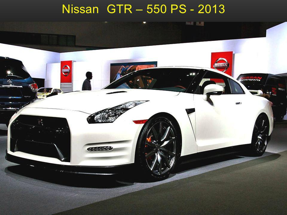 Nissan GTR – 550 PS - 2013