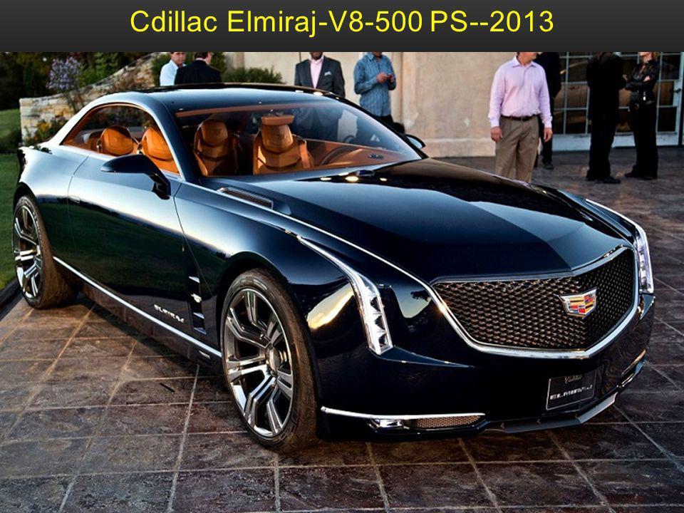 Cdillac Elmiraj-V8-500 PS--2013