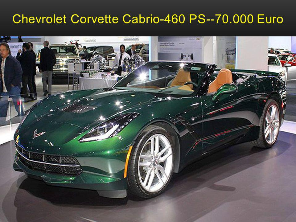 Chevrolet Corvette Cabrio-460 PS--70.000 Euro