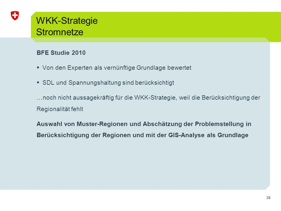 WKK-Strategie Stromnetze