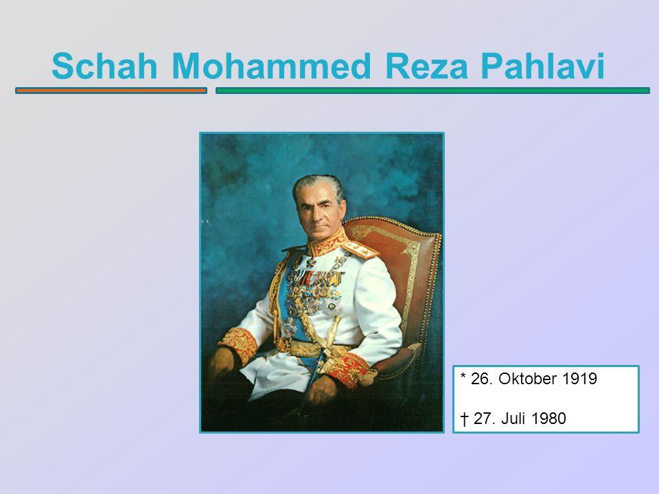 Schah Mohammed Reza Pahlavi