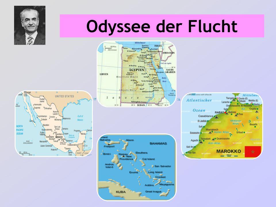 Odyssee der Flucht