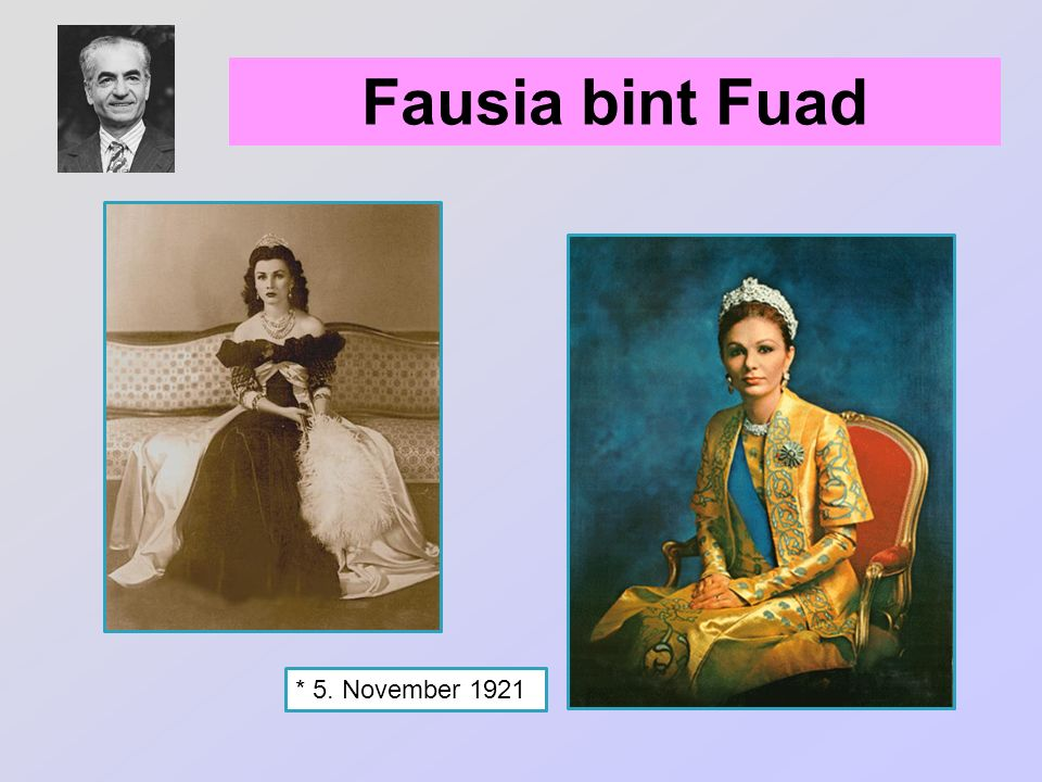Fausia bint Fuad * 5. November 1921