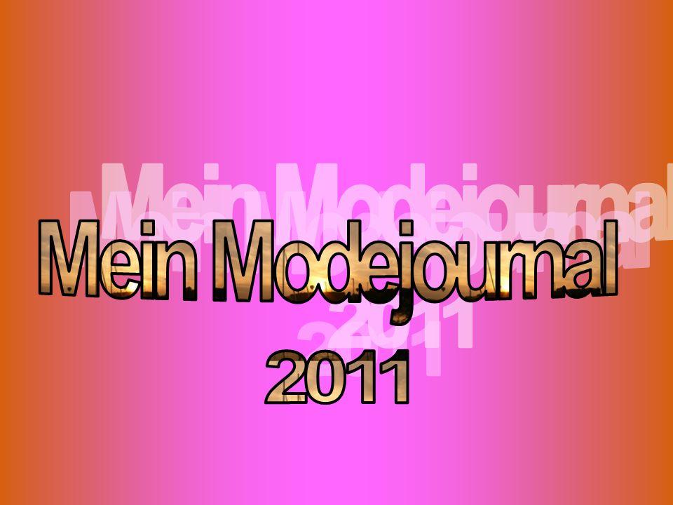 Mein Modejournal 2011