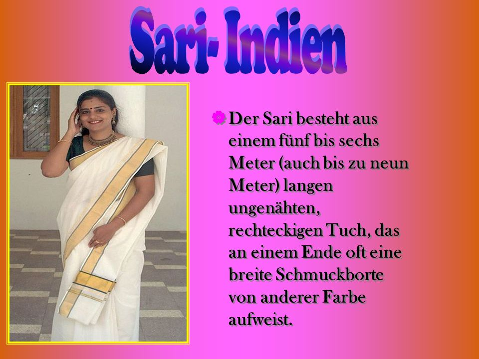 Sari- Indien