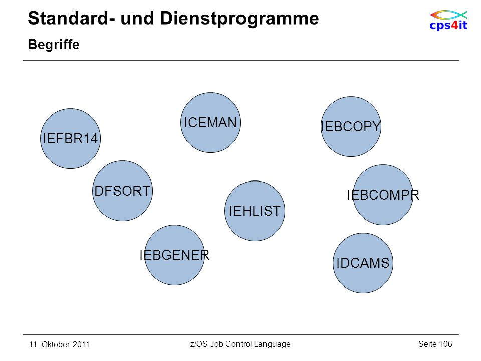 Standard- und Dienstprogramme