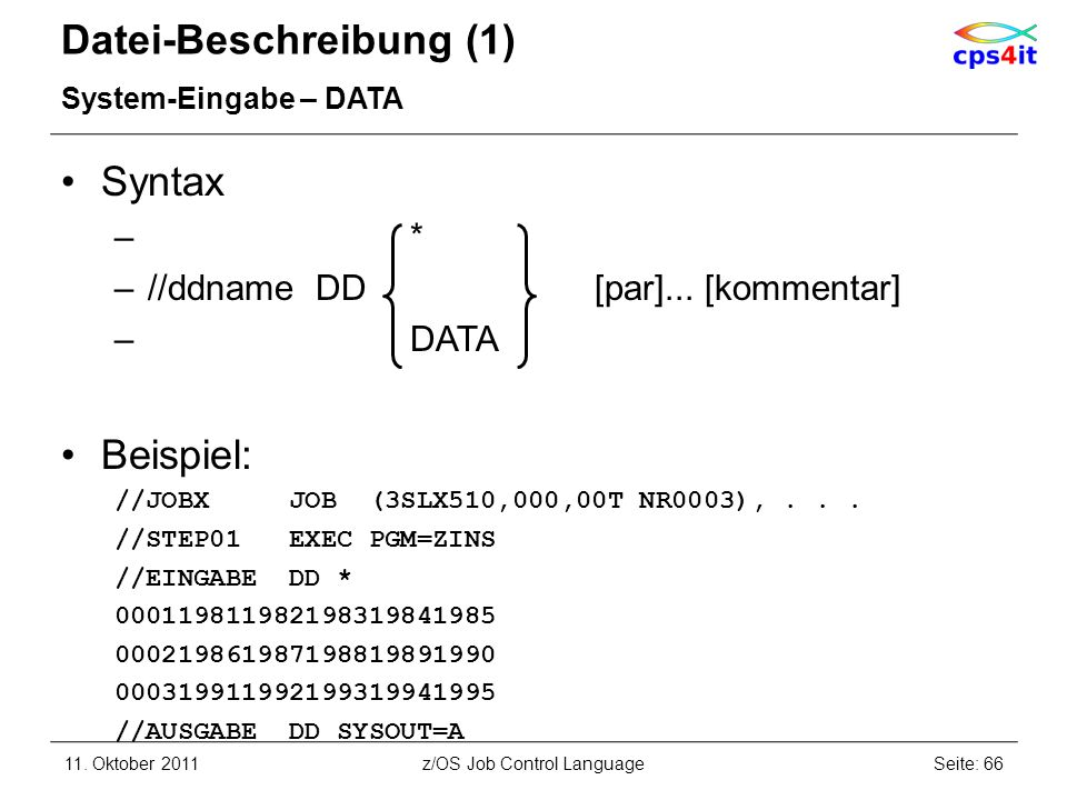 Datei-Beschreibung (1)