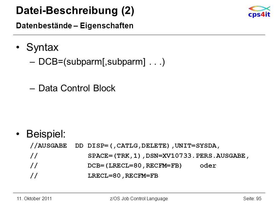 Datei-Beschreibung (2)