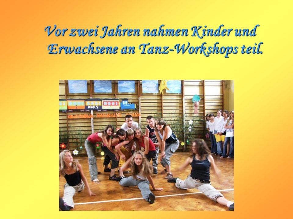Vor zwei Jahren nahmen Kinder und Erwachsene an Tanz-Workshops teil.