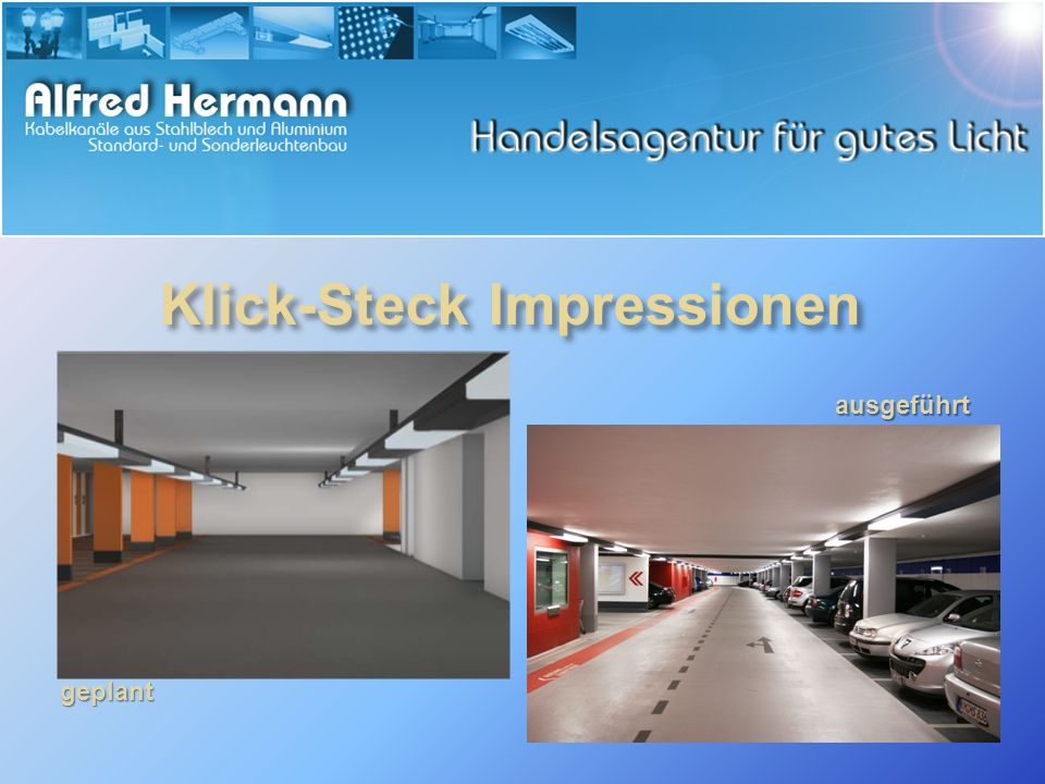 Klick-Steck Impressionen