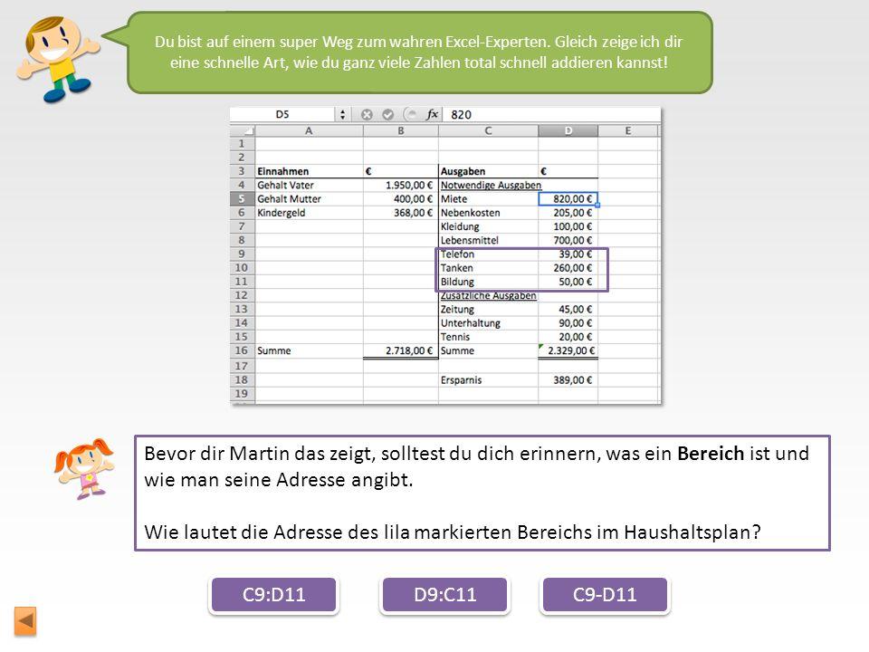 Wie lautet die Adresse des lila markierten Bereichs im Haushaltsplan