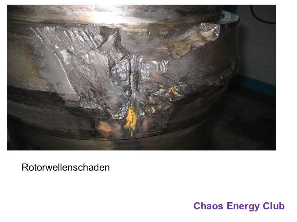 Rotorwellenschaden Chaos Energy Club