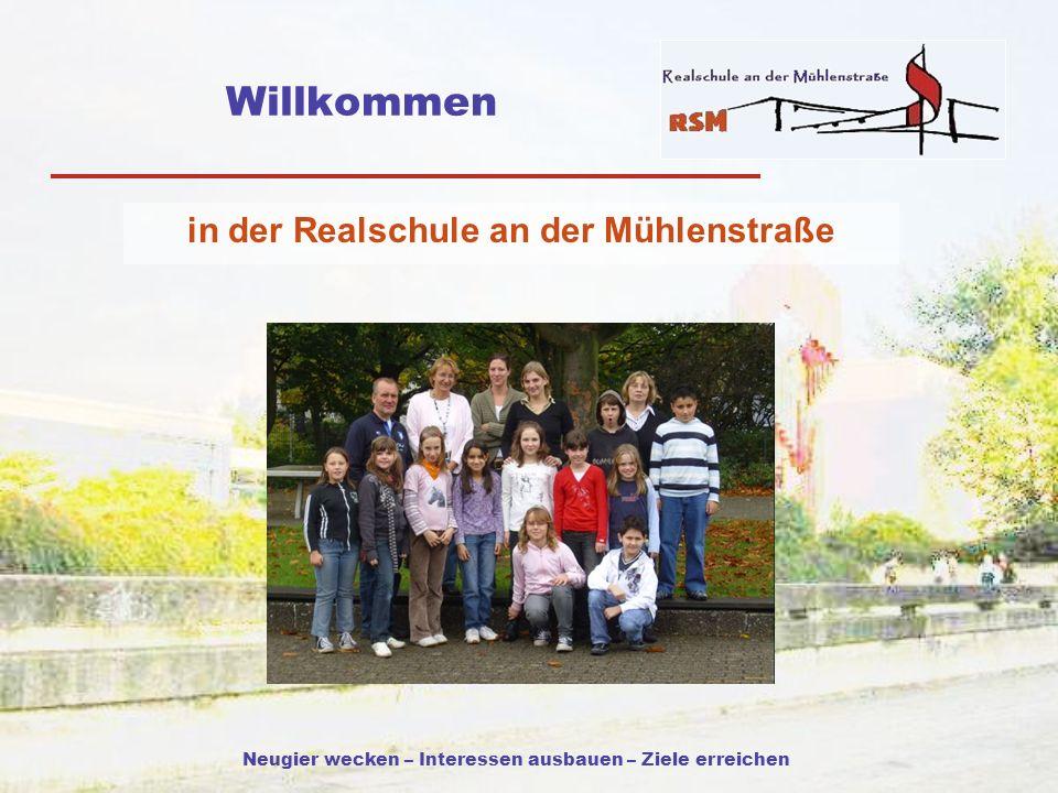 in der Realschule an der Mühlenstraße