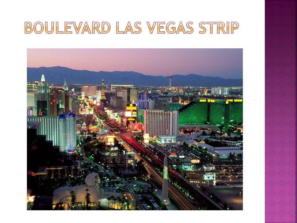 Boulevard Las Vegas strip