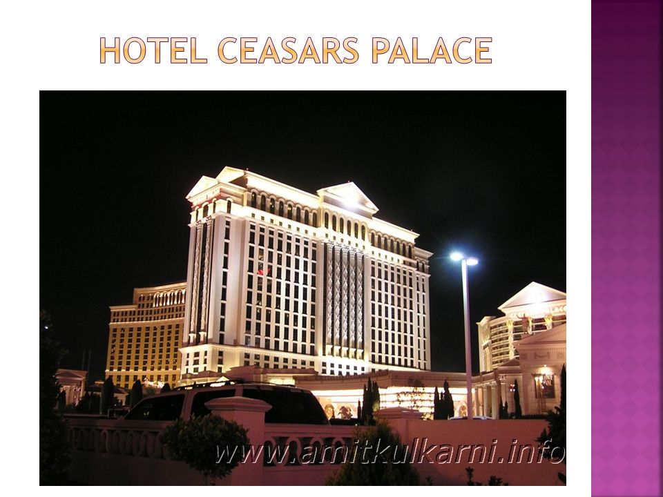 Hotel Ceasars Palace