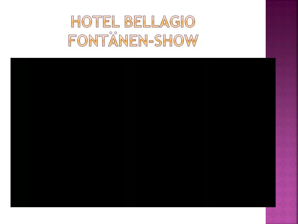 Hotel Bellagio FontÄnEN-SHow