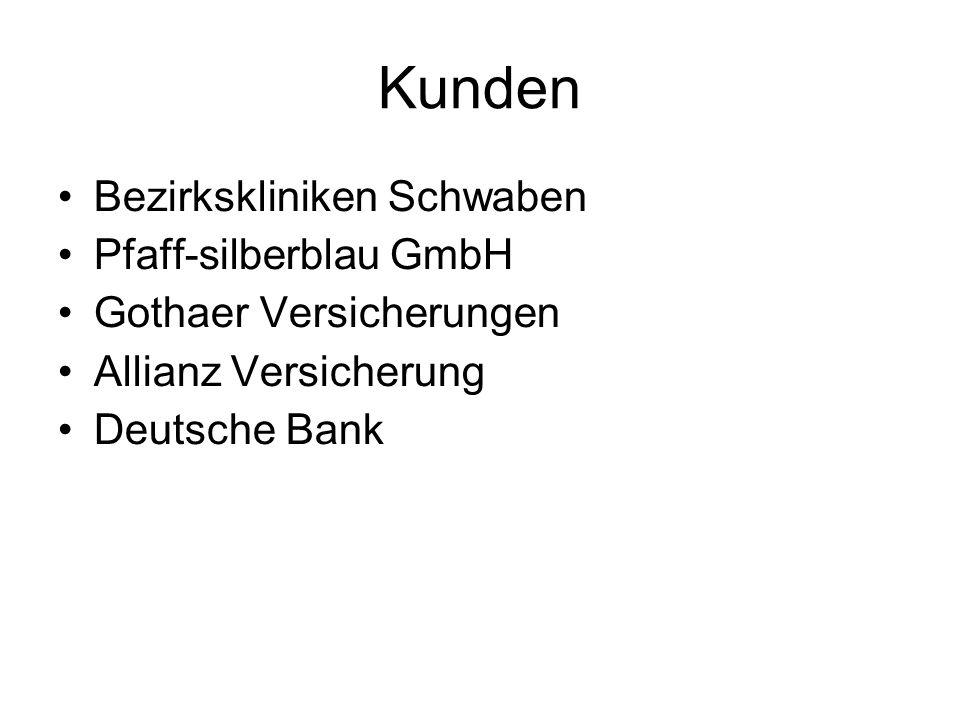 Kunden Bezirkskliniken Schwaben Pfaff-silberblau GmbH