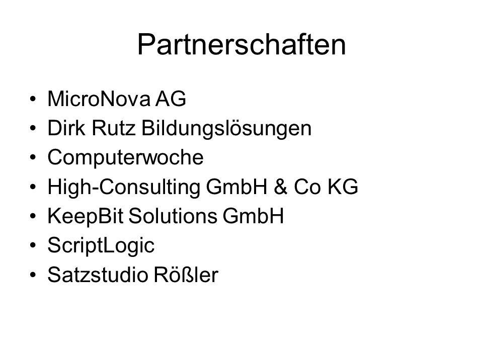 Partnerschaften MicroNova AG Dirk Rutz Bildungslösungen Computerwoche
