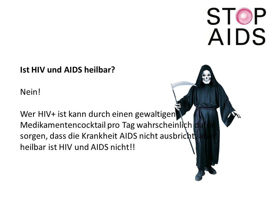 Ist HIV und AIDS heilbar