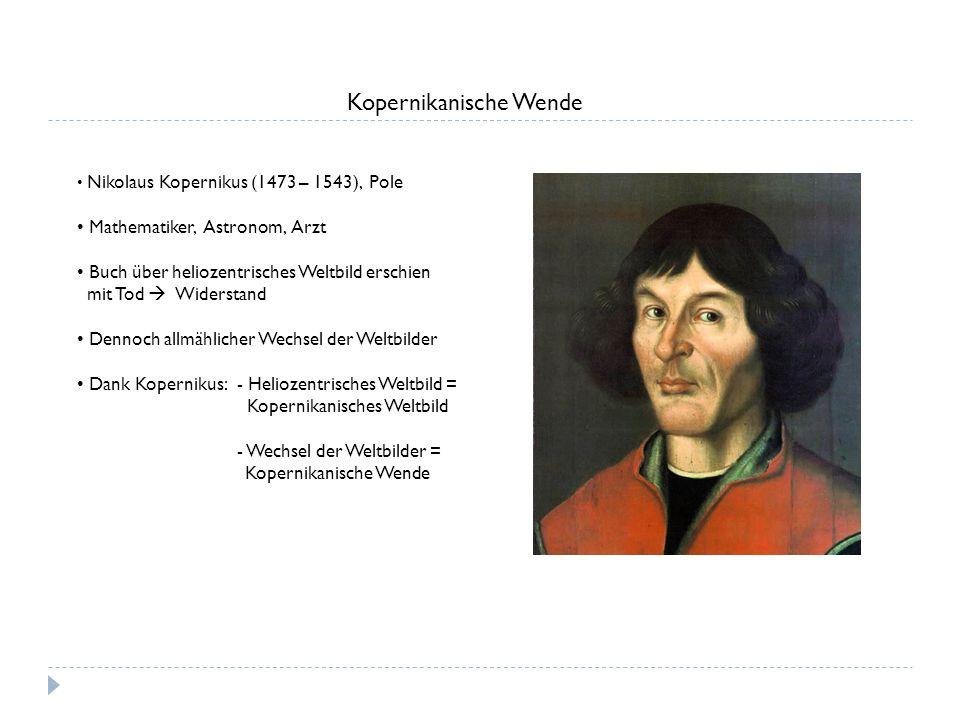 Kopernikanische Wende
