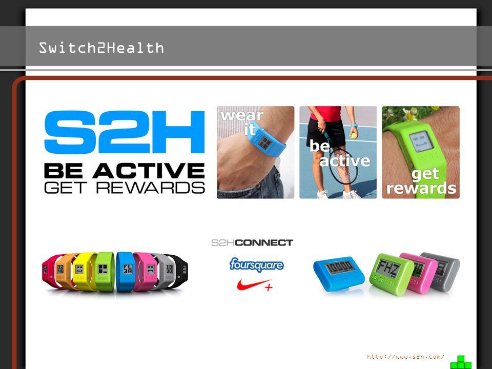 Switch2Health Links S2H Replay Uhr - Sport treiben - Punkte sammeln