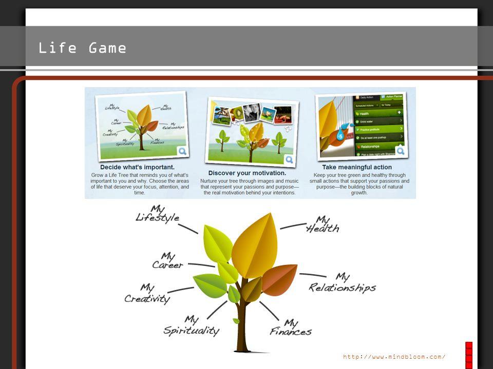 Life Game Man kann: Virtuellen Baum Pflanzen