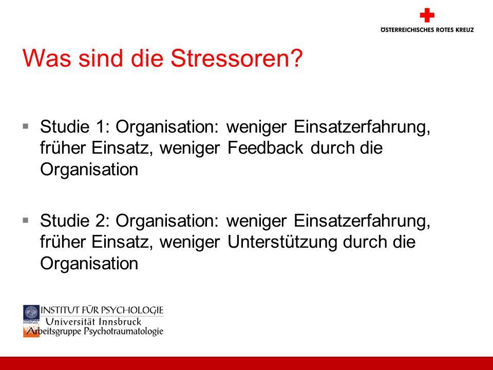 Was sind die Stressoren