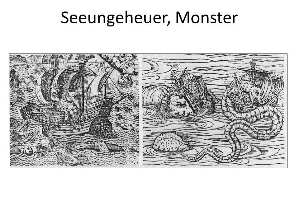 Seeungeheuer, Monster