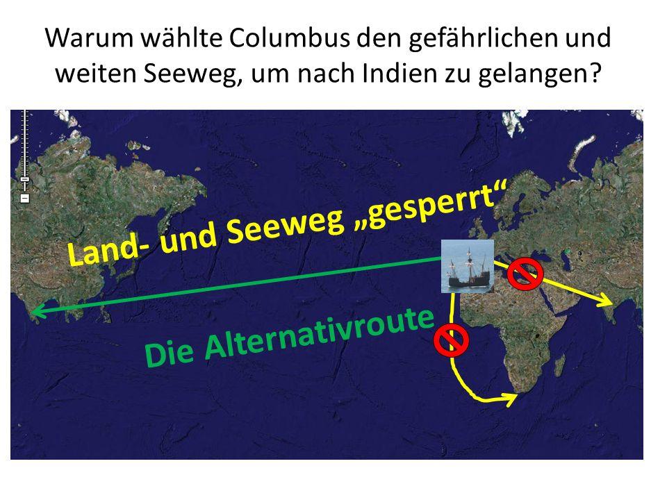 """Land- und Seeweg """"gesperrt"""