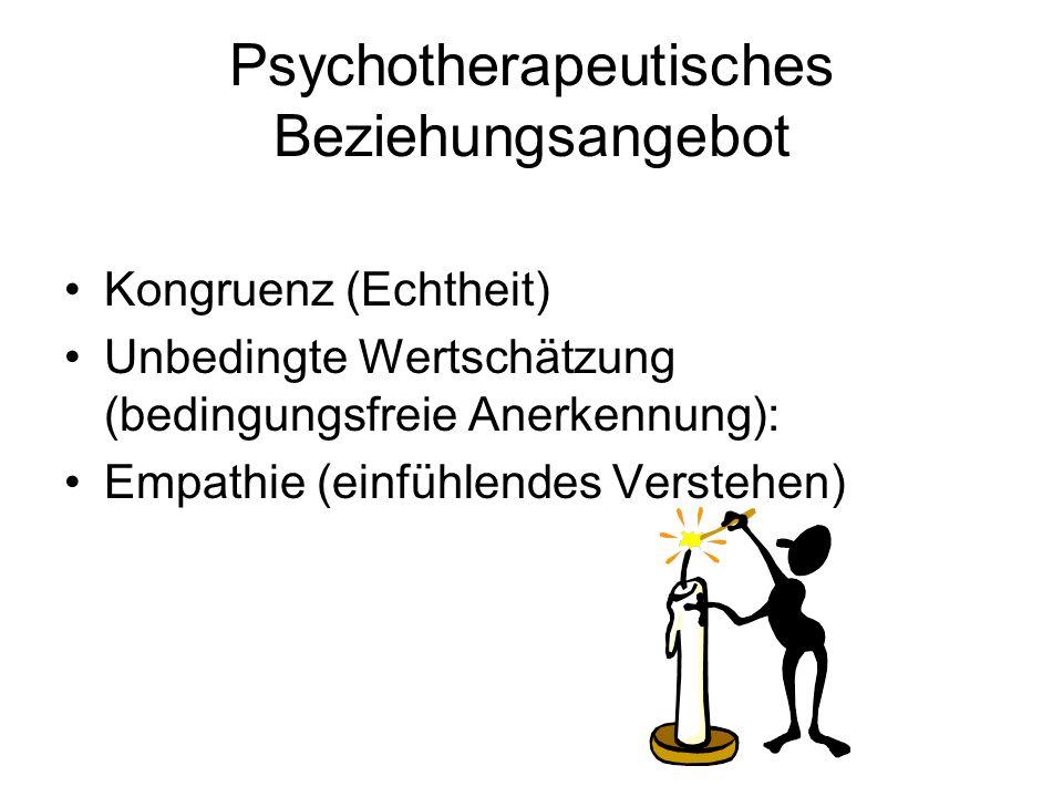 Psychotherapeutisches Beziehungsangebot