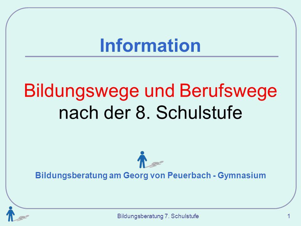 Bildungsberatung am Georg von Peuerbach - Gymnasium