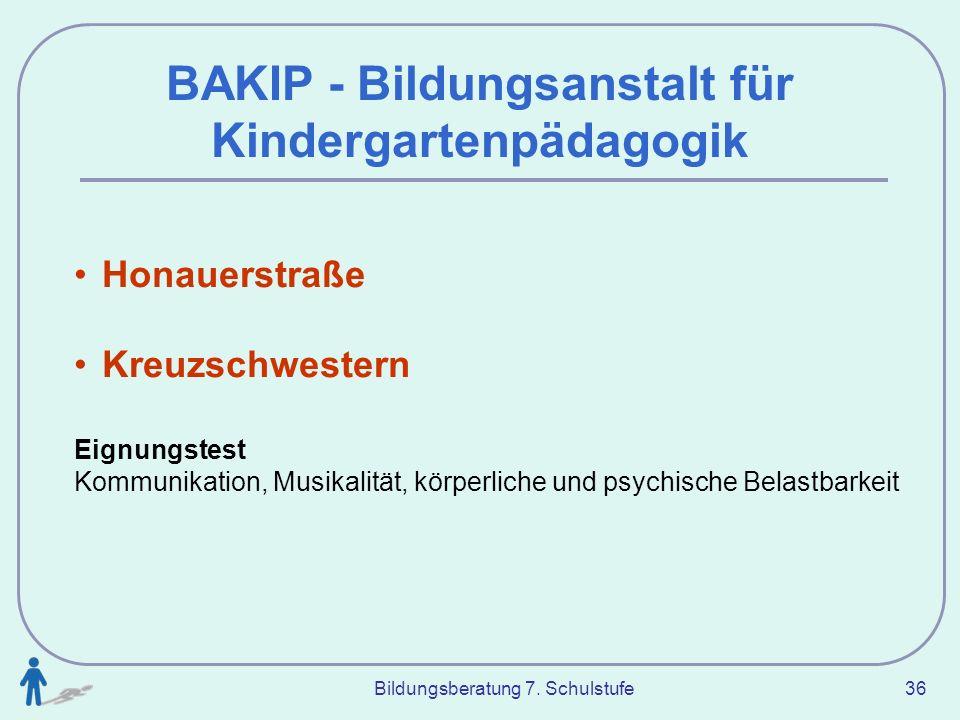 BAKIP - Bildungsanstalt für Kindergartenpädagogik