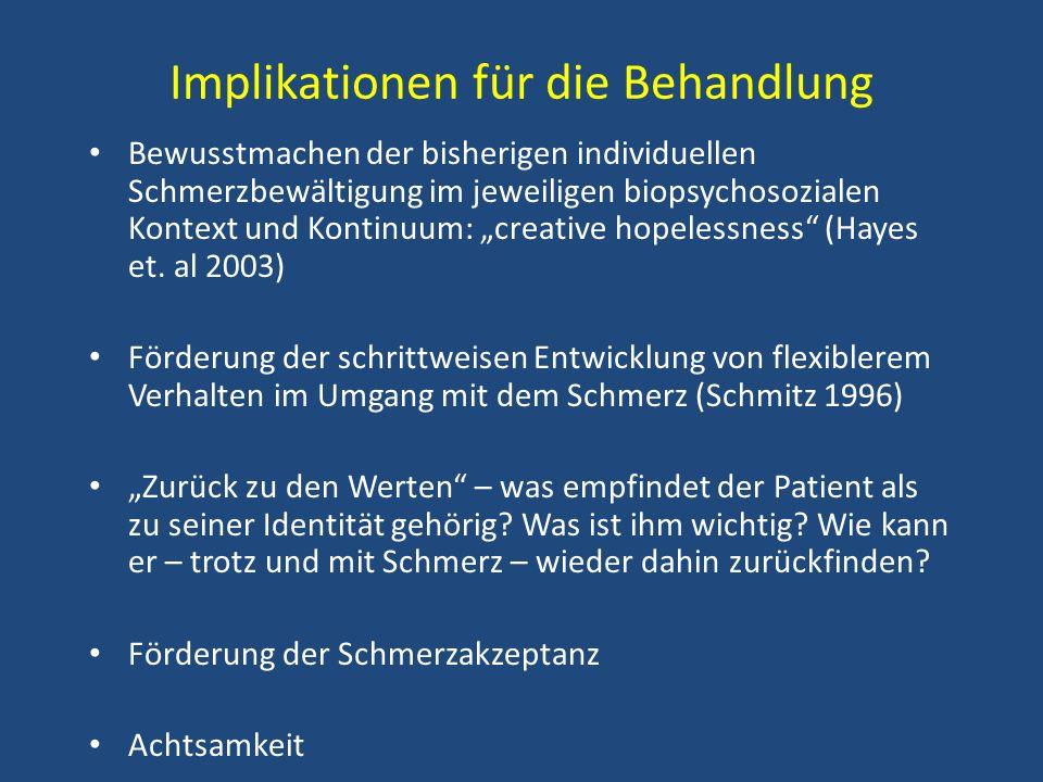 Implikationen für die Behandlung