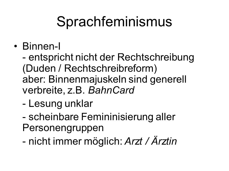 Sprachfeminismus