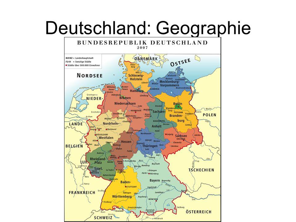 Deutschland: Geographie