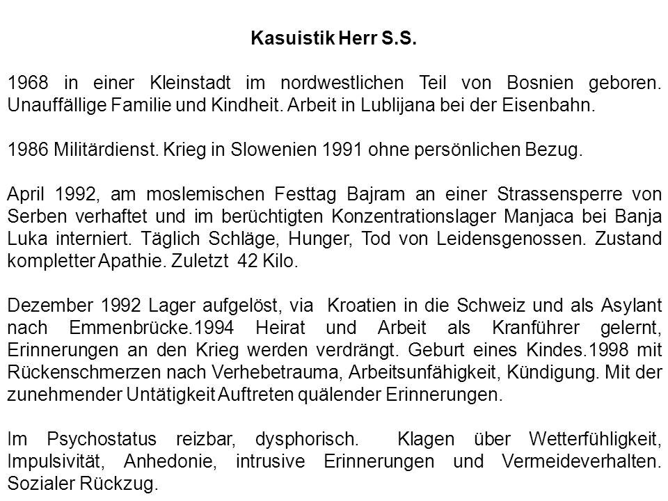Kasuistik Herr S.S.