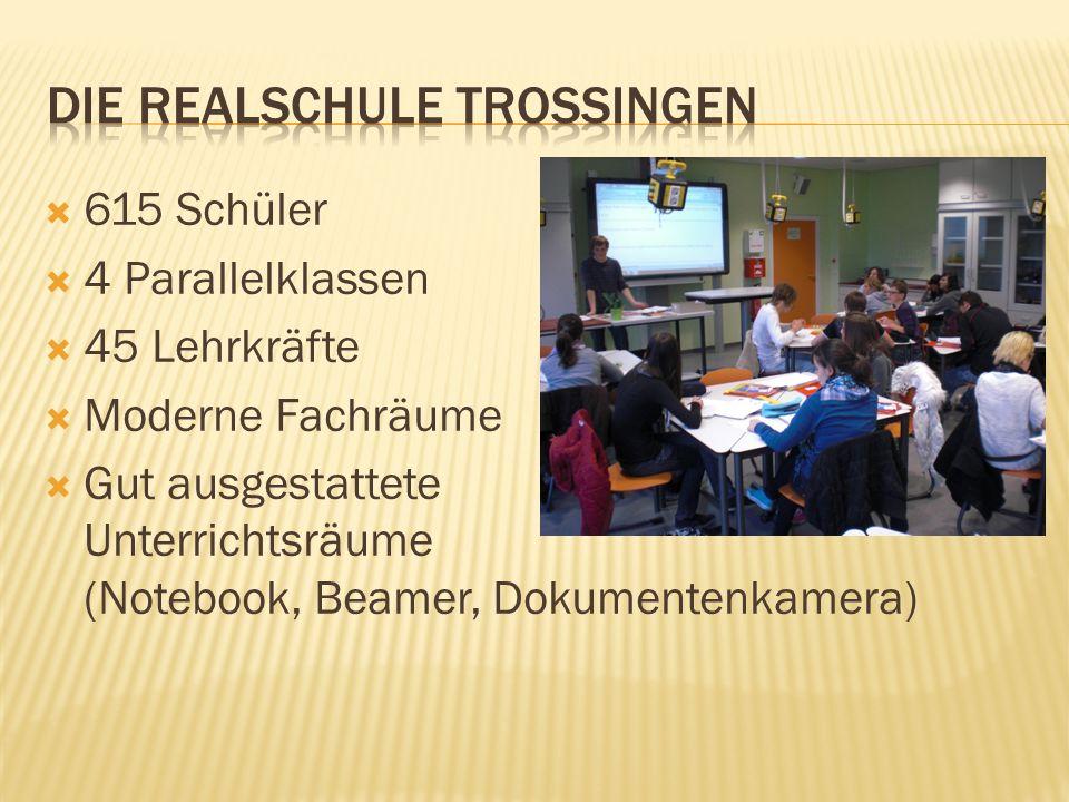 Die Realschule Trossingen