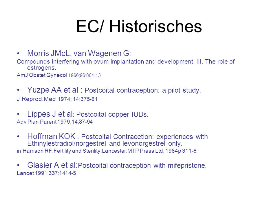EC/ Historisches Morris JMcL, van Wagenen G: