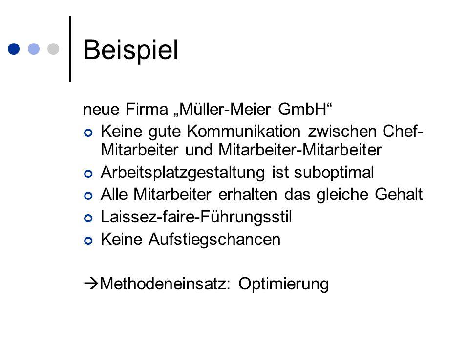 """Beispiel neue Firma """"Müller-Meier GmbH"""