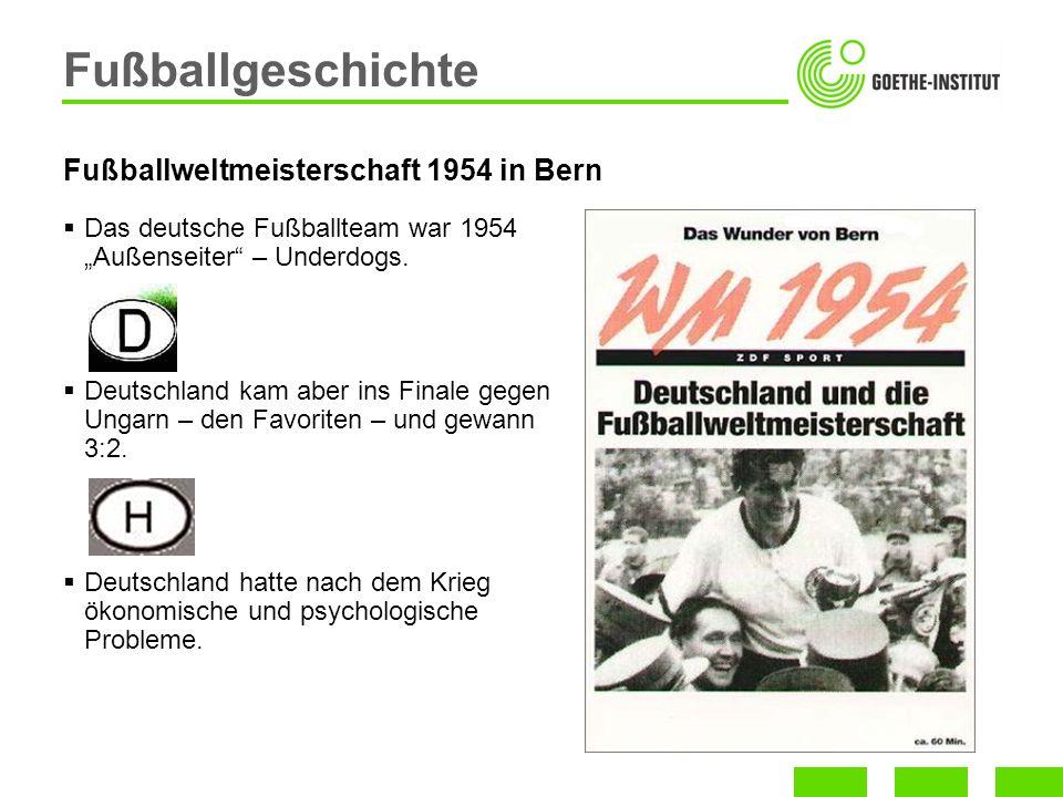 Fußballweltmeisterschaft 1954 in Bern