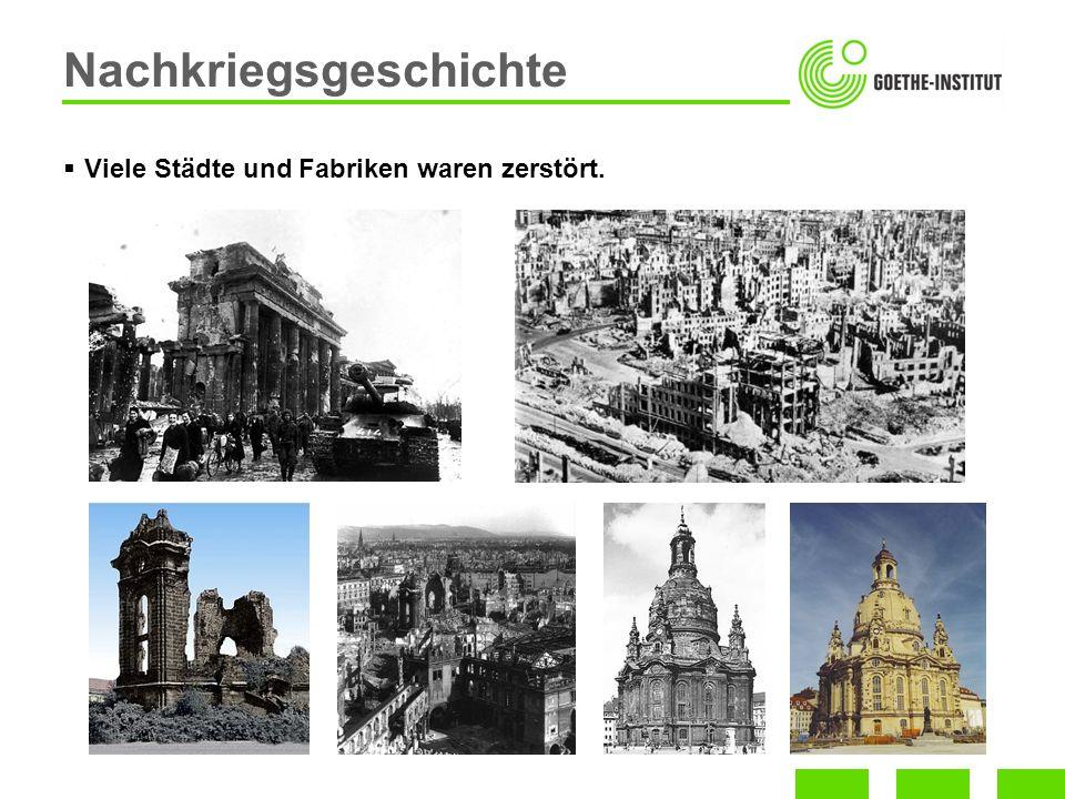 Nachkriegsgeschichte