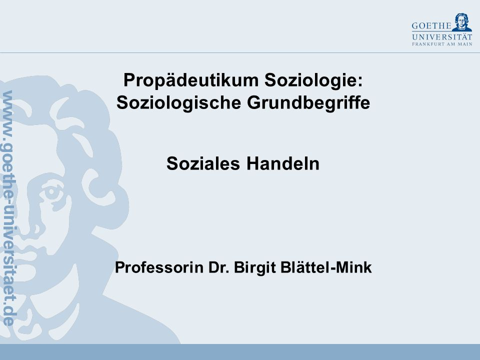 Professorin Dr. Birgit Blättel-Mink