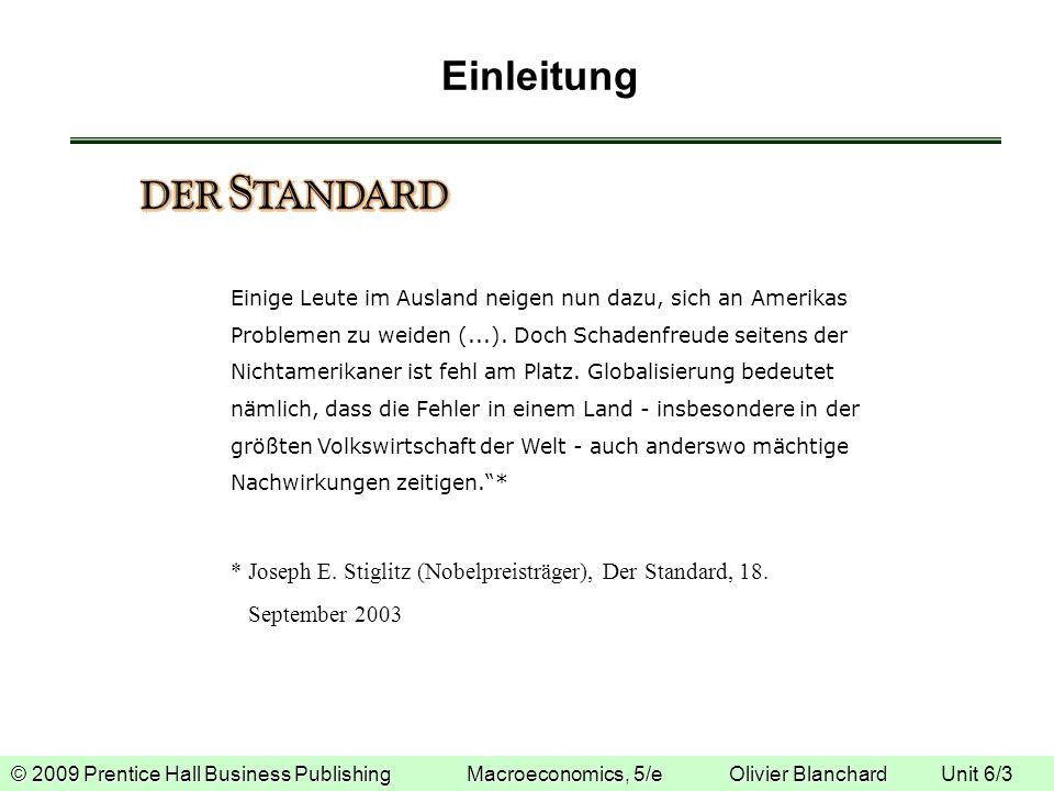 Einleitung * Joseph E. Stiglitz (Nobelpreisträger), Der Standard, 18.