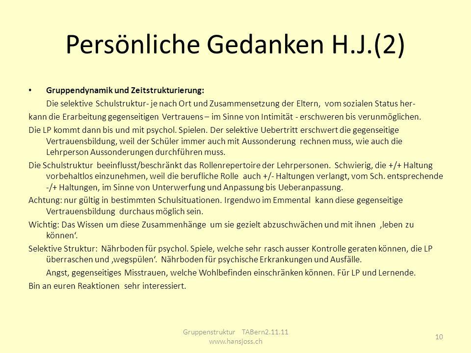 Persönliche Gedanken H.J.(2)