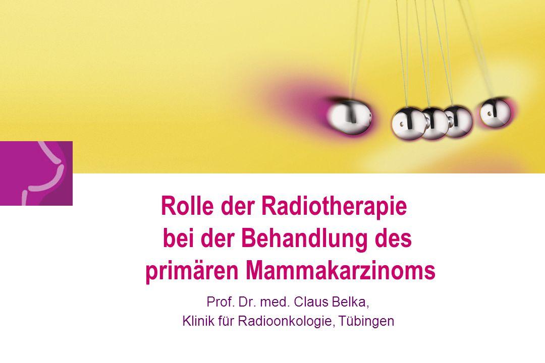 Prof. Dr. med. Claus Belka, Klinik für Radioonkologie, Tübingen