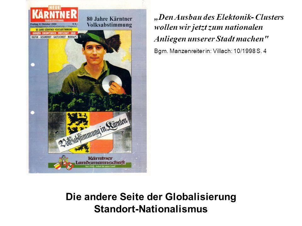 Die andere Seite der Globalisierung Standort-Nationalismus