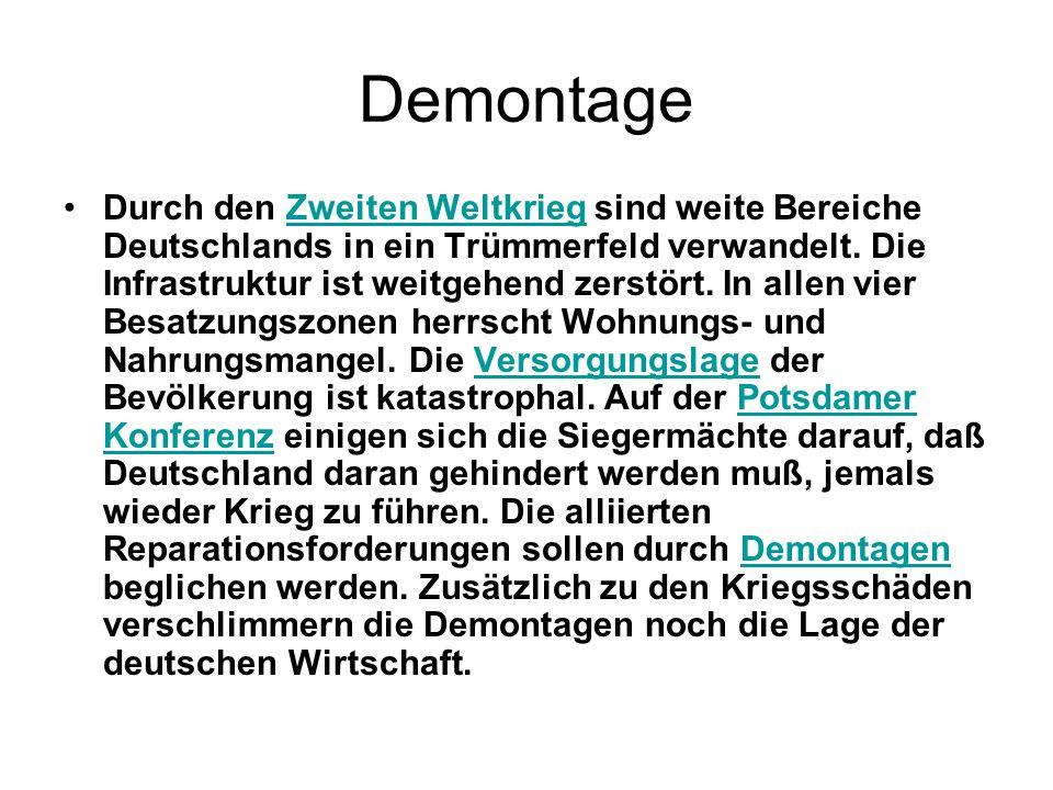 Demontage